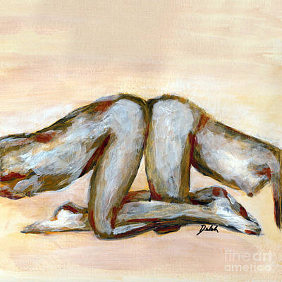 Painting - Position #233 by Denise Deiloh