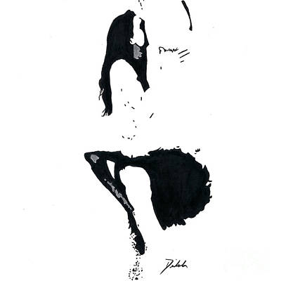 Drawing - Position #251 by Denise Deiloh