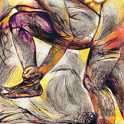 Drawing - Position #264 by Denise Deiloh