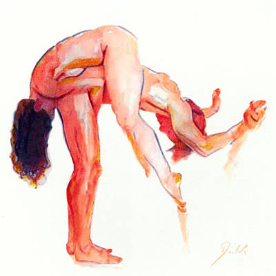 Painting - Position #44 by Denise Deiloh