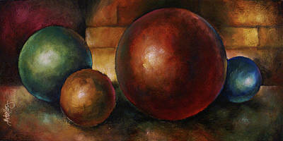 Basic Painting - Position By Choice by Michael Lang