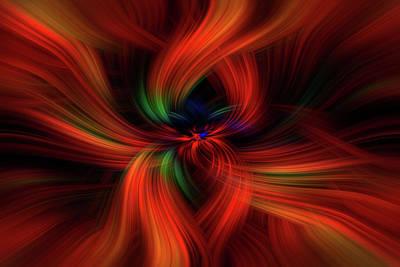 Positive Creativity. Mystery Of Colors   Print by Jenny Rainbow