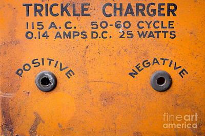 Photograph - Positive Negative by Edward Fielding