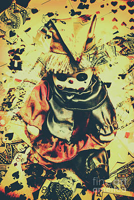 Joker Photograph - Possessed Vintage Horror Doll  by Jorgo Photography - Wall Art Gallery