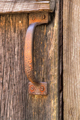 Possum Trot Church Door Handle Original