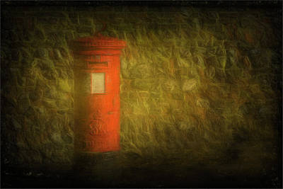 Post Box And Wall Original