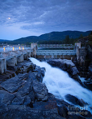 Photograph - Post Falls Dam by Idaho Scenic Images Linda Lantzy