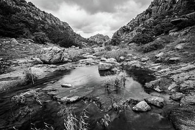 Photograph - Post Oak Creek by Nathan Hillis