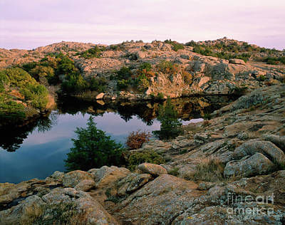 Photograph - Post Oak Lakeon A Hot Afternoon by Richard Smith