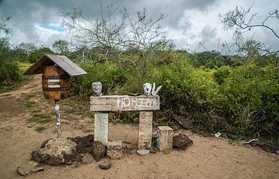 Photograph - Post Office At Floreana Island by Harry Strharsky