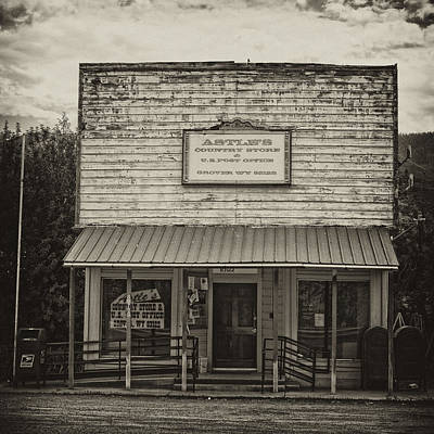 Wyoming Photograph - Post Office Grover Wyoming by Hugh Smith