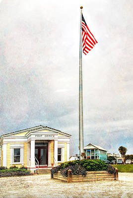 Post Office In Seaside Florida Art Print