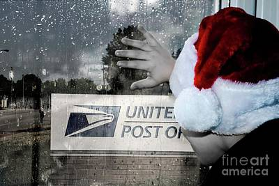Photograph - Post Office Santa by Bob Pardue