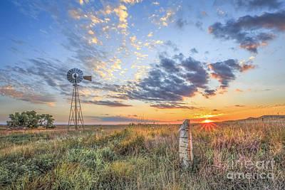 Prairie Landscape Wall Art - Photograph - Post Rock Country by Jill Van Doren Rolo