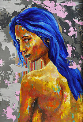 Painting - Post Synthetique II by Bazevian
