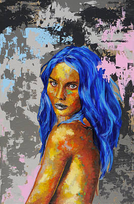 Painting - Post Synthetique Iv by Bazevian