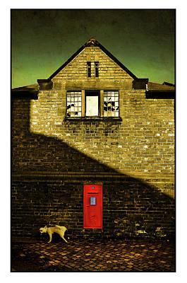 Katharine Hepburn - Postal Service by Mal Bray