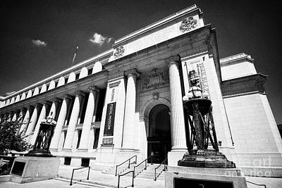Postal Square Building Washington Dc Usa Art Print
