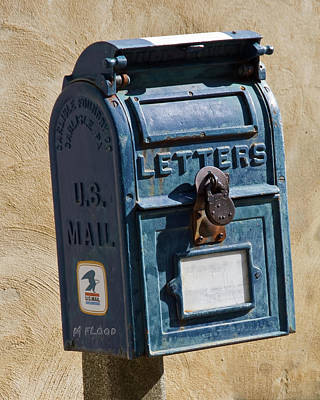 Photograph - Postbox 61419 by Michael Flood