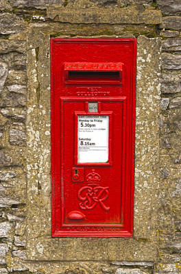 Photograph - Postbox by Nick Field