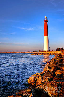 Copyright Photograph - Postcard From Barnegat  by Olivier Le Queinec