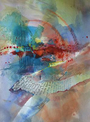 Painting - Postcard by Kris Parins