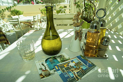 Vino Photograph - Postcards From Crete  by Rob Hawkins