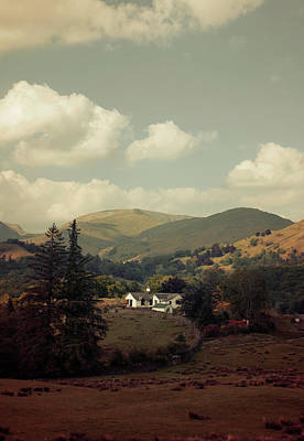 Postcards From Scotland Art Print by Jaroslaw Blaminsky