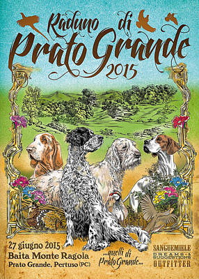 Trial Mixed Media - Poster Prato Grande 2015 by Sanguemiele Design