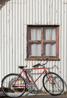 Photograph - Postie Bike by Linda Lees