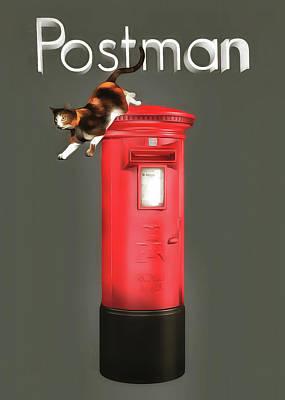 Painting - Postman by Jan Keteleer
