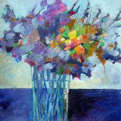 Painting - Posy For Lavender Lovers by Susanne Clark