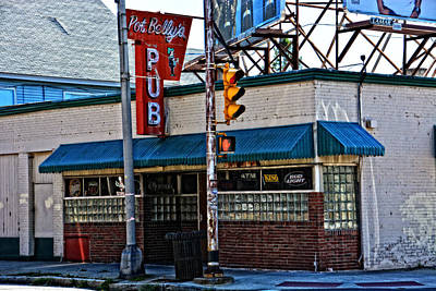 Photograph - Pot Belly's Pub by Mike Martin
