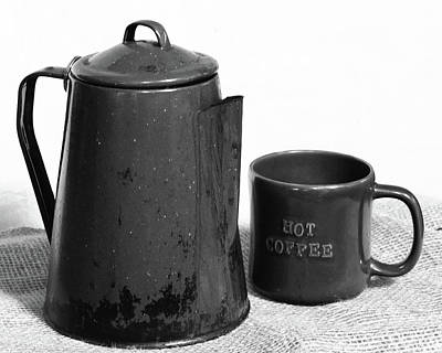 Photograph - Pot Of Coffee by Philip A Swiderski Jr