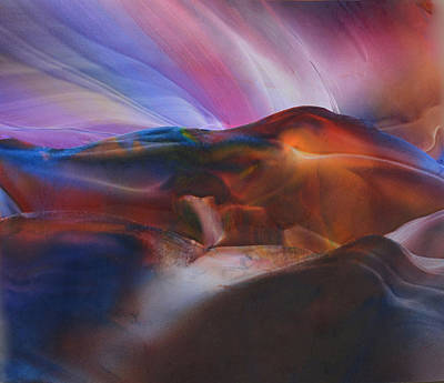 Mountainous Mixed Media - Pot Of Gold by Maureen Thulin