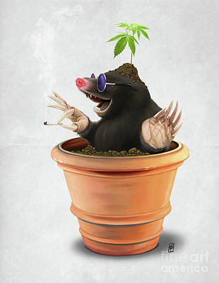 Digital Art - Pot Wordless by Rob Snow