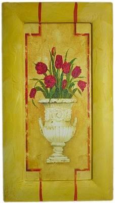 Pot Tulips Art Print by The Art Markets