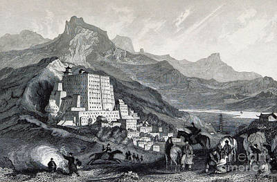 Potala Palace, 19th Century Art Print by British Library