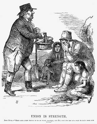 Potato Famine, 1846 Art Print by Granger