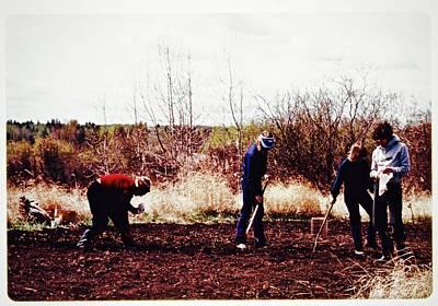 Photograph - Potato Planters by Brian Sereda