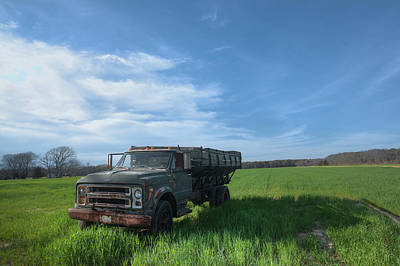Photograph - Potato Truck by Steve Gravano