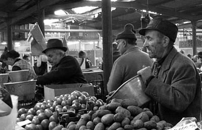 Photograph - Potatoes Anyone? by Judi Saunders