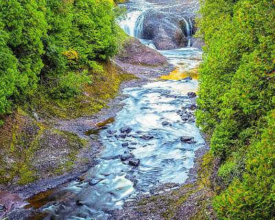 Photograph - Potawatomi Falls by Jack R Perry