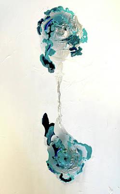 Joan Raspo Wall Art - Painting - Potentia by Joan Raspo