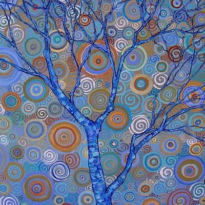 Raw Sienna Painting - Potential Tree by Dana Marie