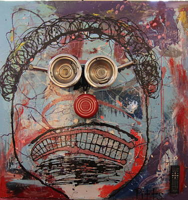Think Green. Eco-friendly Mixed Media - Pothead by Greg Pitts