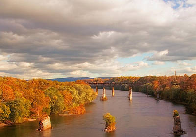 Photograph - Potomac River by Mick Burkey