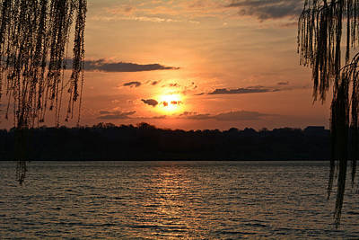 Photograph - Potomac River Sunset In March by Emmy Marie Vickers