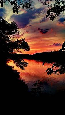 Photograph - Potomac Sunset by Kevin D Davis