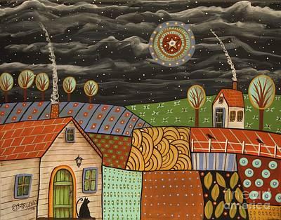 Potpourri Landscape Art Print by Karla Gerard